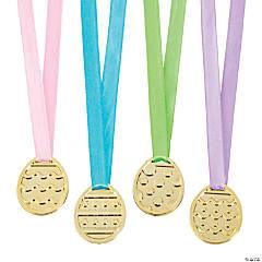 Easter Egg-Shaped Award Medals