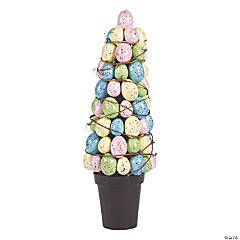 Easter Egg Topiary Tree Tabletop Decoration