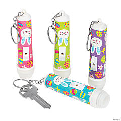 Easter Flashlight Keychains