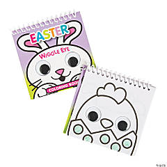 Easter Googly Eyes Spiral Coloring Books
