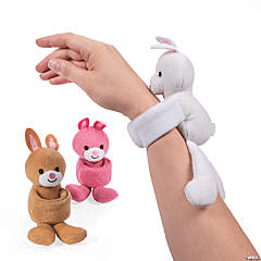 Easter Hugging Stuffed Bunny Bracelets