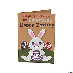 Easter Kraft Paper Card Craft Kit