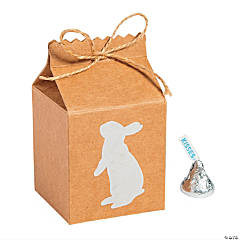 Easter Milk Carton-Shaped Treat Boxes