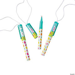 Easter Pens on a Rope
