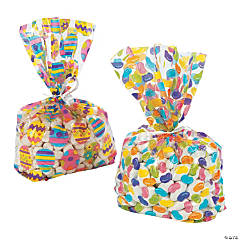 Easter Print Cellophane Bags