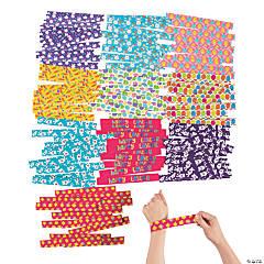 Easter Slap Bracelet Assortment - 150 Pc.