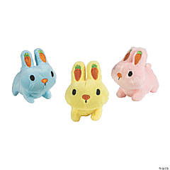 Easter Stuffed Bunnies with Carrot Ears
