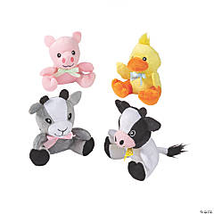 Easter Stuffed Farm Animals