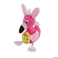 Easter Stuffed Flamingos