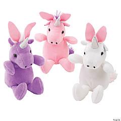 Easter Stuffed Unicorns with Bunny Ears