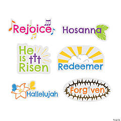 Easter Words Mini Cutouts