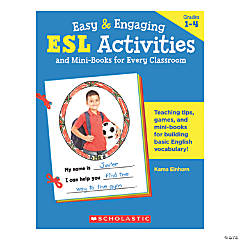 Easy & Engaging ESL Activities and Mini-Books for Every Classroom, 2 Books