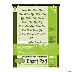 Ecology® Recycled Ruled Chart Pad