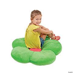ECR4Kids 35in Flower Floor Pillow - Bright Green