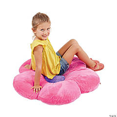 ECR4Kids 35in Flower Floor Pillow - Bright Pink