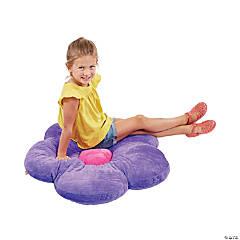 ECR4Kids 35in Flower Floor Pillow - Bright Purple