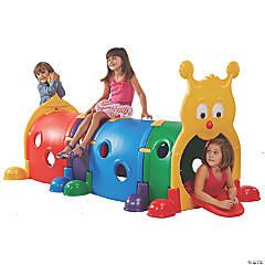 ECR4Kids GUS Climb-N-Crawl Caterpillar Indoor/Outdoor Play Structure for Kids