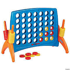 ECR4Kids Junior 4-to-Score Giant Game Set - Primary Colors