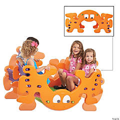ECR4Kids Phanty Pic-N-Rock Play Table and See Saw