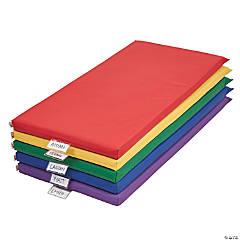 ECR4Kids Rainbow Rest Mat 5-Piece - Assorted