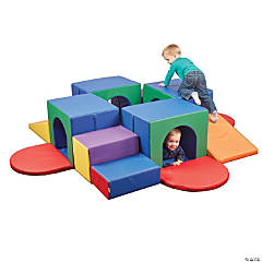 ECR4Kids Softzone Climber - Crawling Tunnel Maze