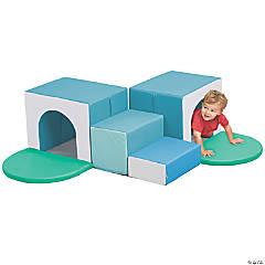 ECR4Kids Softzone® Corner Tunnel Maze - Contemporary