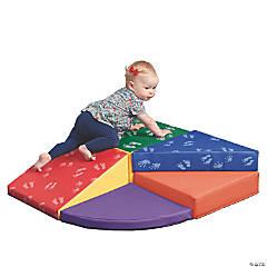 ECR4Kids SoftZone® Junior Tiny Twisting Climber - Hands and Feet