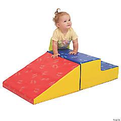 ECR4Kids Softzone® Little Me Climb and Slide - Primary