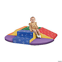 ECR4KidsSoftzone® Little Me Wall Climb and Slide - Primary