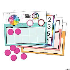 Edu-Clings Ten Frames Manipulative Set