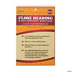 Edupress® Close Reading Flip Book