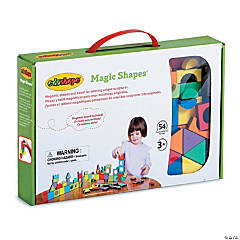 edushape® Magic Shapes with Board, 54 Pieces