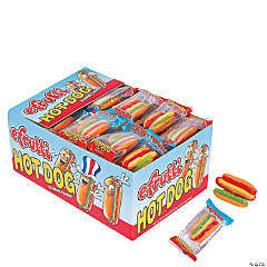 Efrutti® Hot Dog Gummy Candy