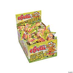 Efrutti® Mini Burger Sour Gummi Candy