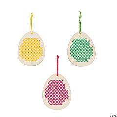 Egg Cross Stitch Ornament Craft Kit