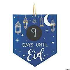 EID Celebration Countdown Chalkboard Sign