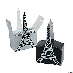 Eiffel Tower Favor Boxes