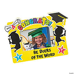 Elementary Graduation Picture Frame Magnet Craft Kit
