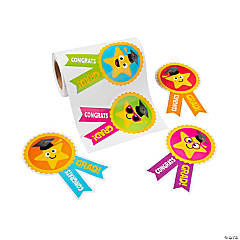 Elementary Graduation Stickers