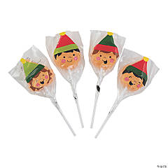 Elf Character Lollipops