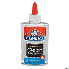 Elmer's® Washable Clear School Glue Bottles