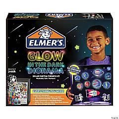 Elmer's Glow Solar System Diorama Kit