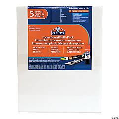 Elmer's® White Foam Board - 5 pc.