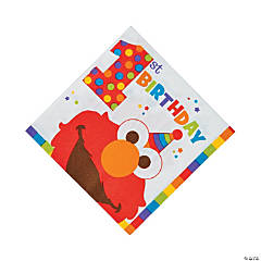 Elmo Turns One Luncheon Napkins