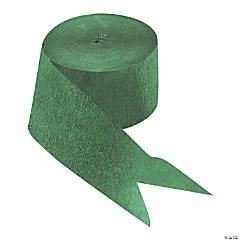 Emerald Green Paper Streamer