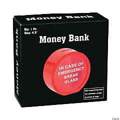 Emergency Only Money Bank