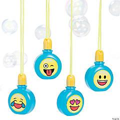 Emoji Bubble Bottle Necklaces