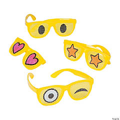 Emoji Eye Pinhole Glasses
