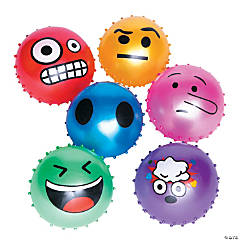 Emoji Face Spike Balls Series 2