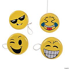 Emoji Face Yo-Yos